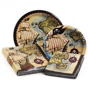 Pirate's Map Tableware