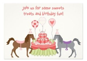 Horse Parties Birthday Bashes Baby Showers PartyIdeaProscom