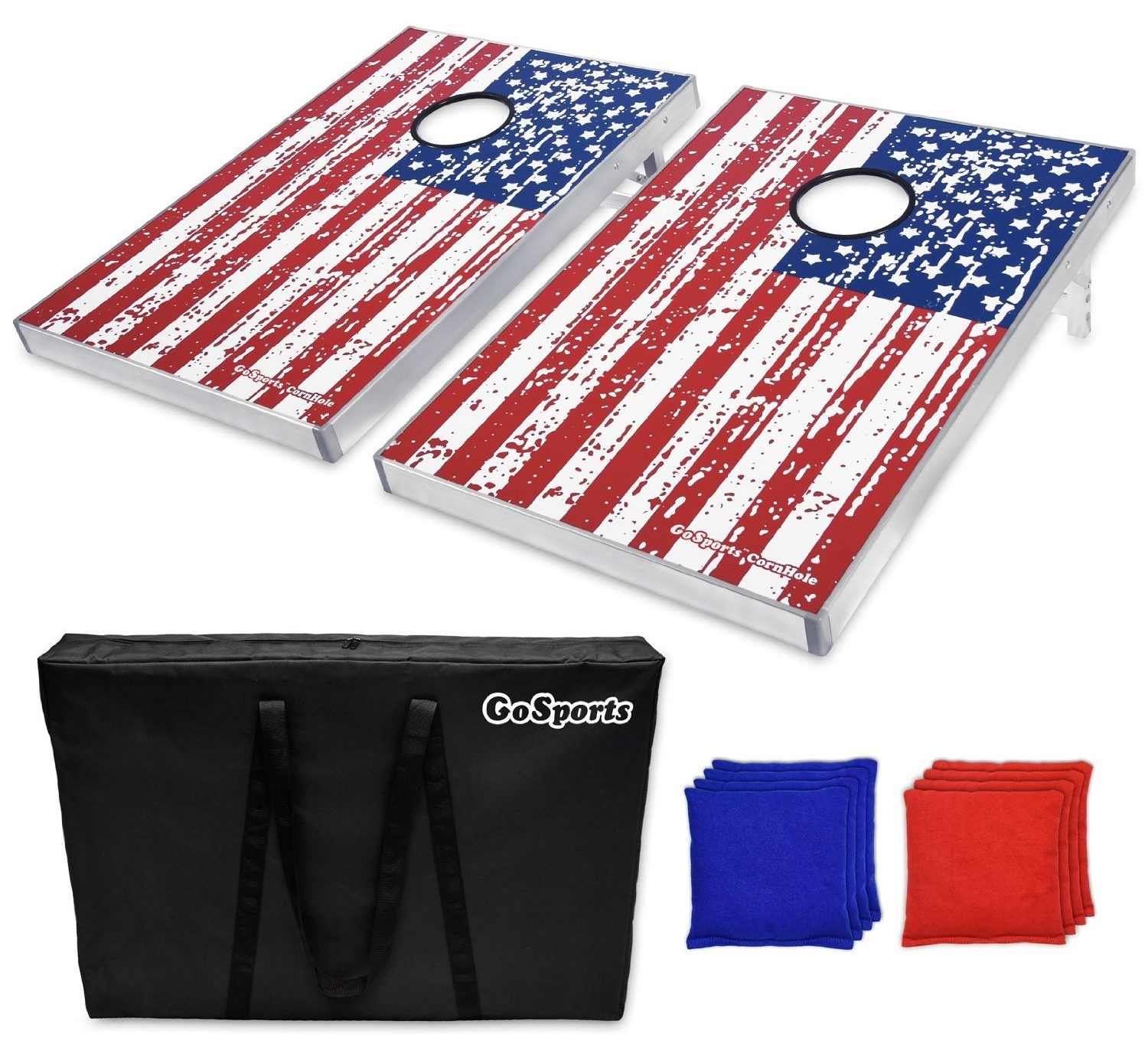 American Flag CornHole Bean Bag Toss Game Set