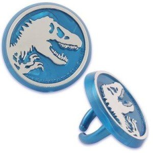 Jurassic World Cupcake Rings