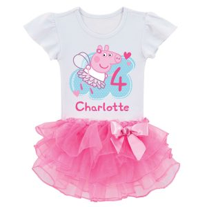 Peppa Pig Birthday Fairy Tutu Tee