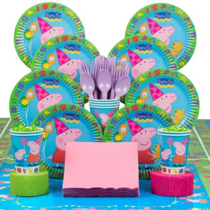 Peppa Pig Deluxe Party Kit