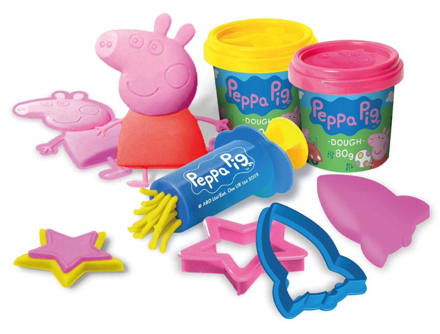 Peppa Pig Space Rocket Dough Set
