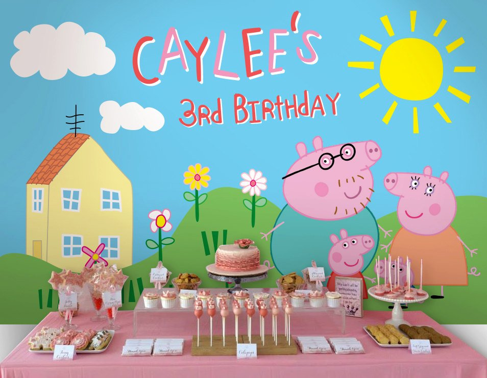 Peppa Pig Birthday Party Planning, Ideas & Supplies ...