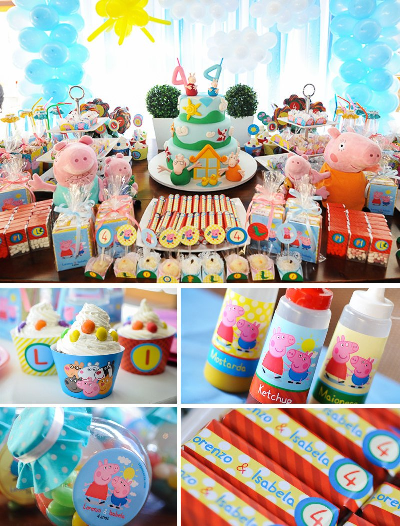 Peppa Pig Printable Party Decor
