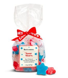 Sees Candies Patriotic Sour Stars