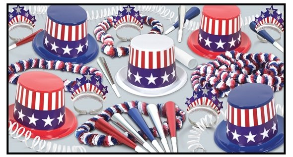 Spirit Of America Party Kit