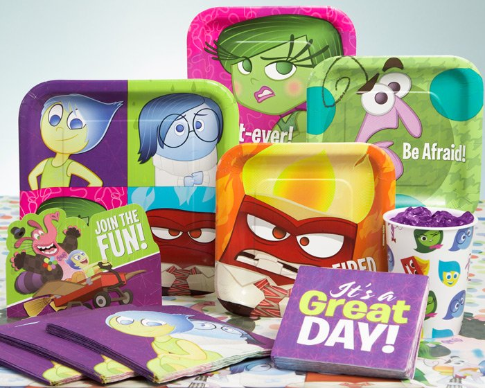 Inside Out Birthday Party Ideas, Decorations & Supplies