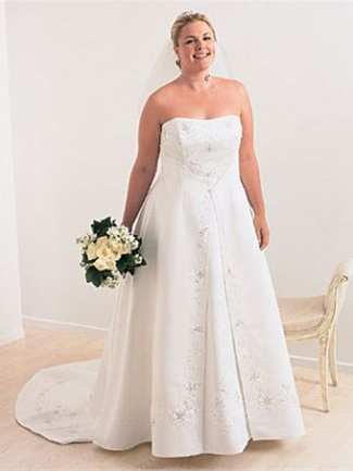 3b661b5d406 Affordable Plus Size Wedding Gowns with Quick Delivery ...