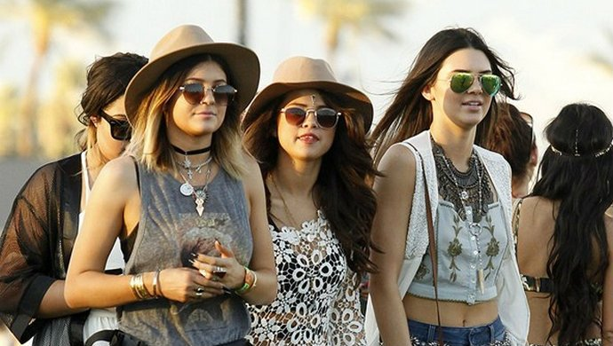 Coachella Celebrity Fashion