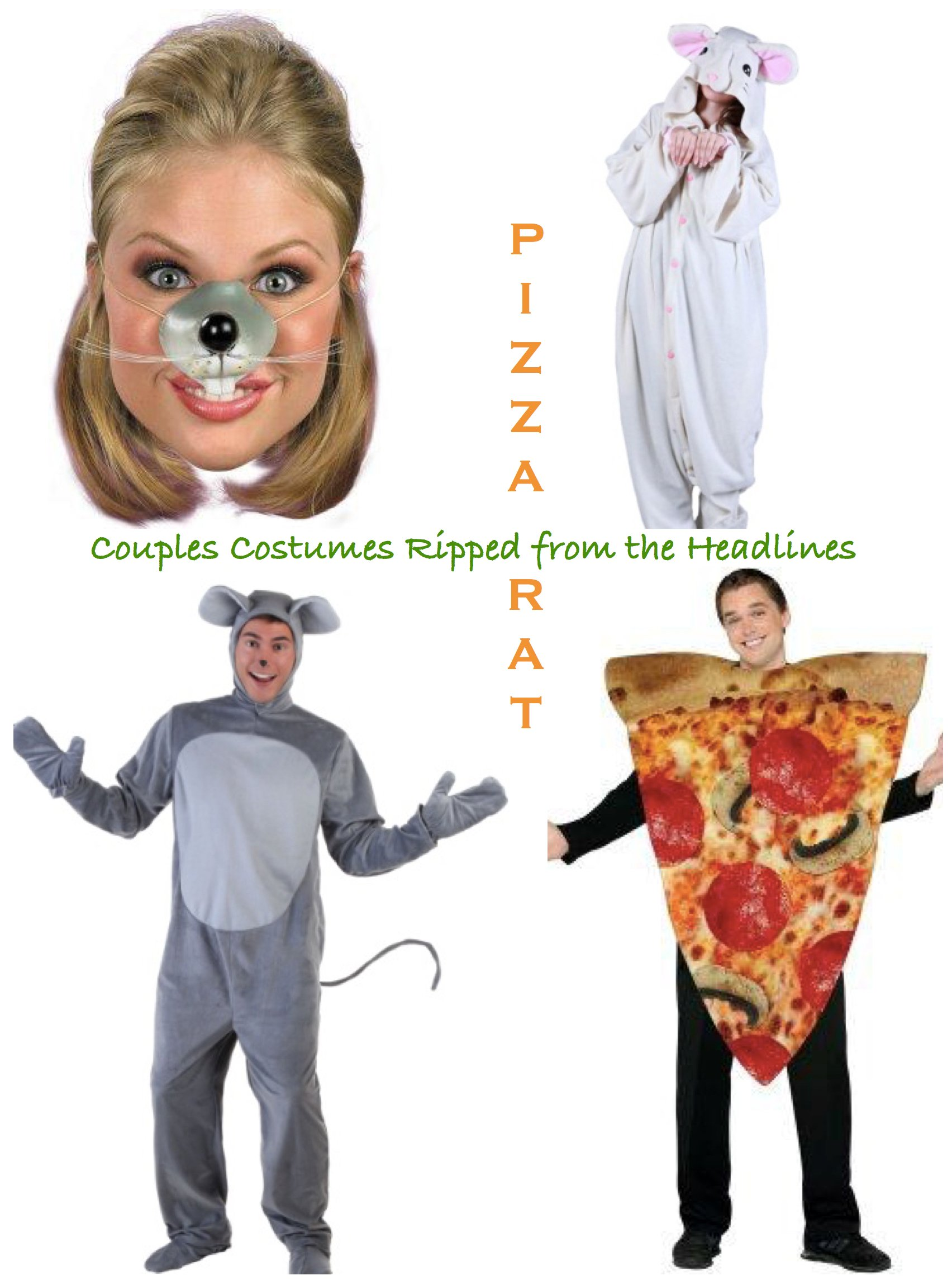 Couples Costumes Ripped from the Headlines Pizza Rat