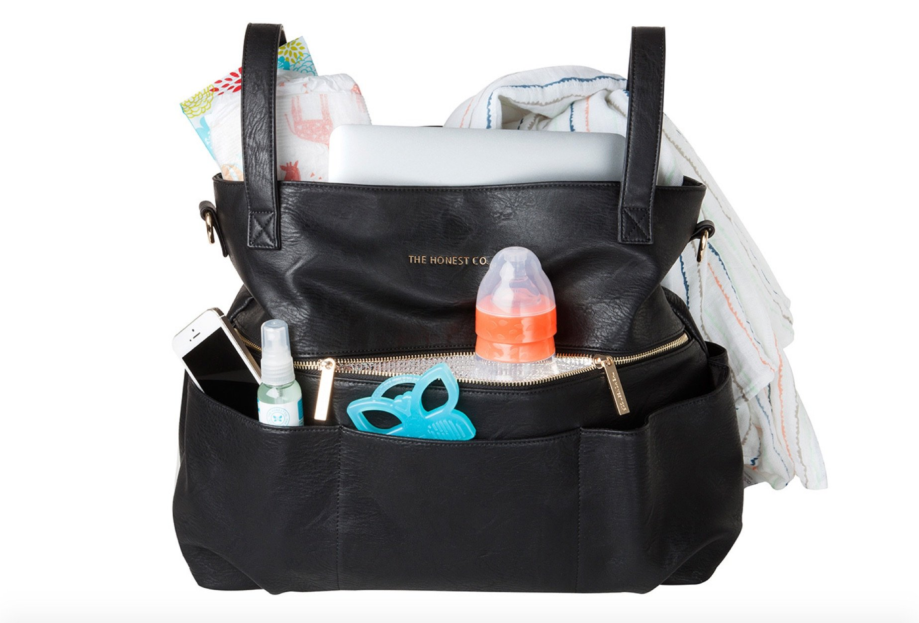 Diaper Bag and Satchel, Natural Baby Shower Gifts