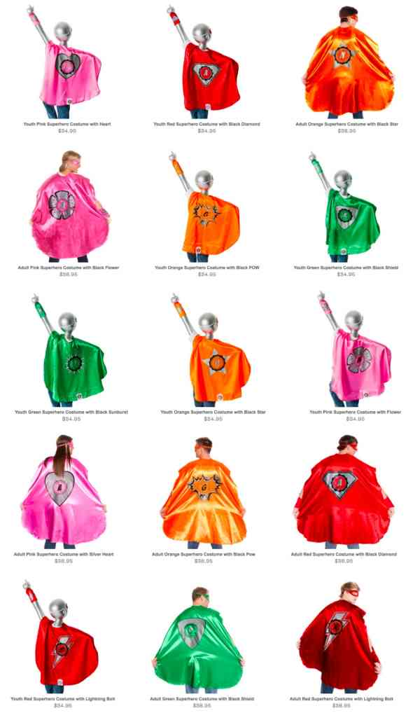 EverFan Superhero Capes for the Family