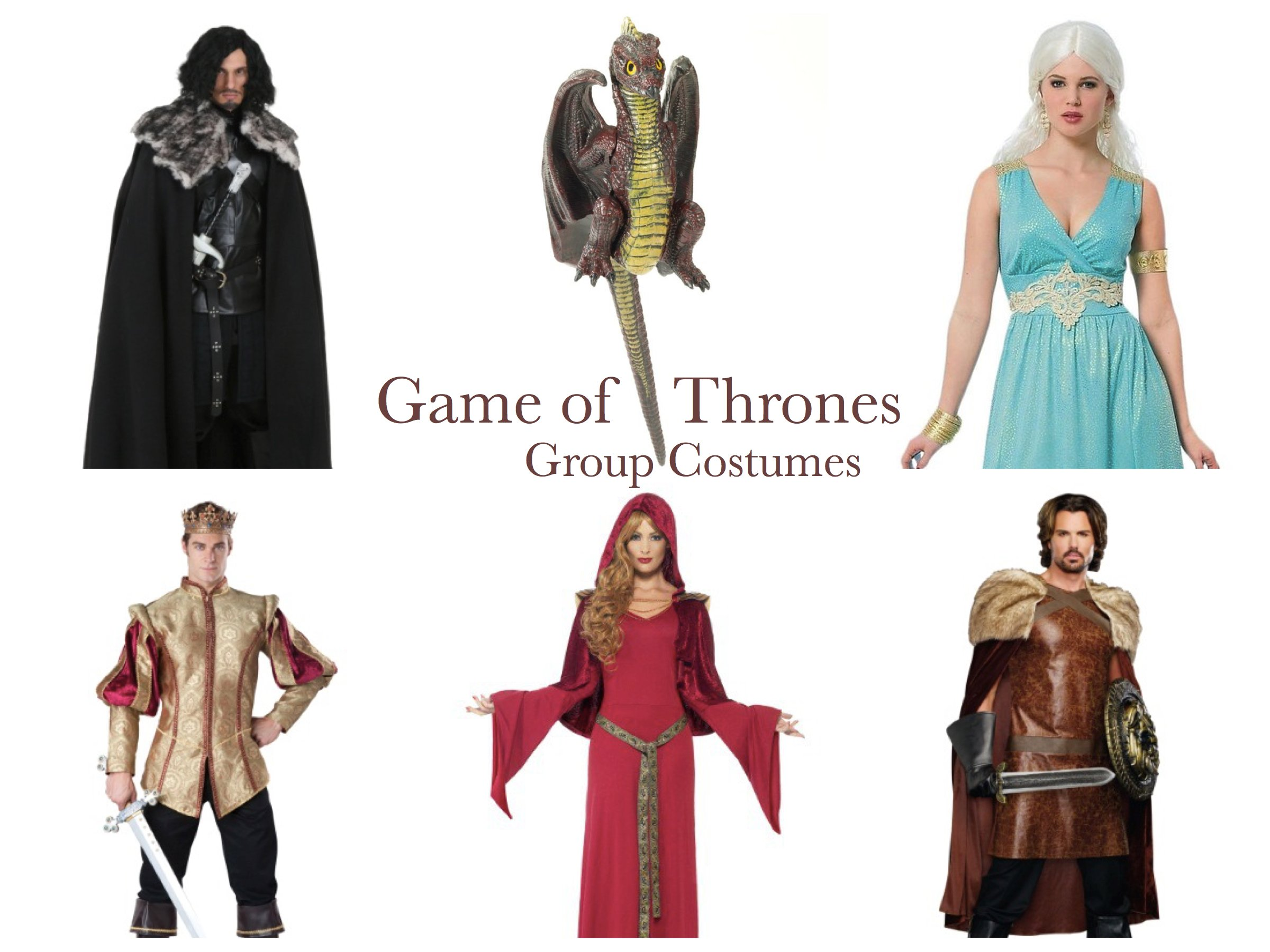 Game of Thrones Group Costumes