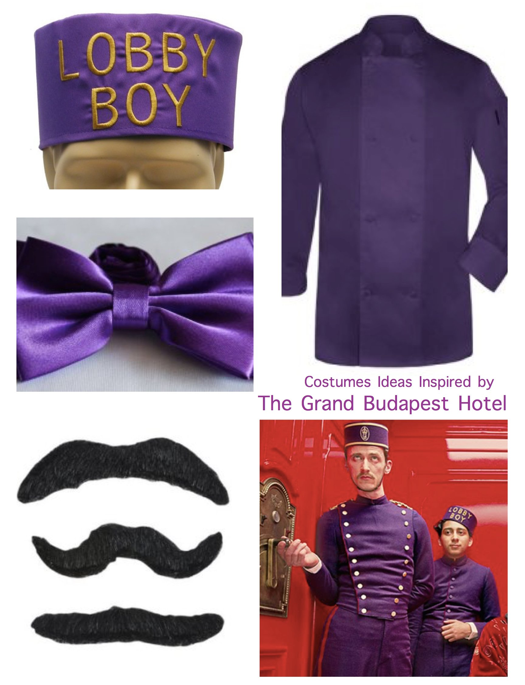 Grand Budapest Hotel Halloween Costumes