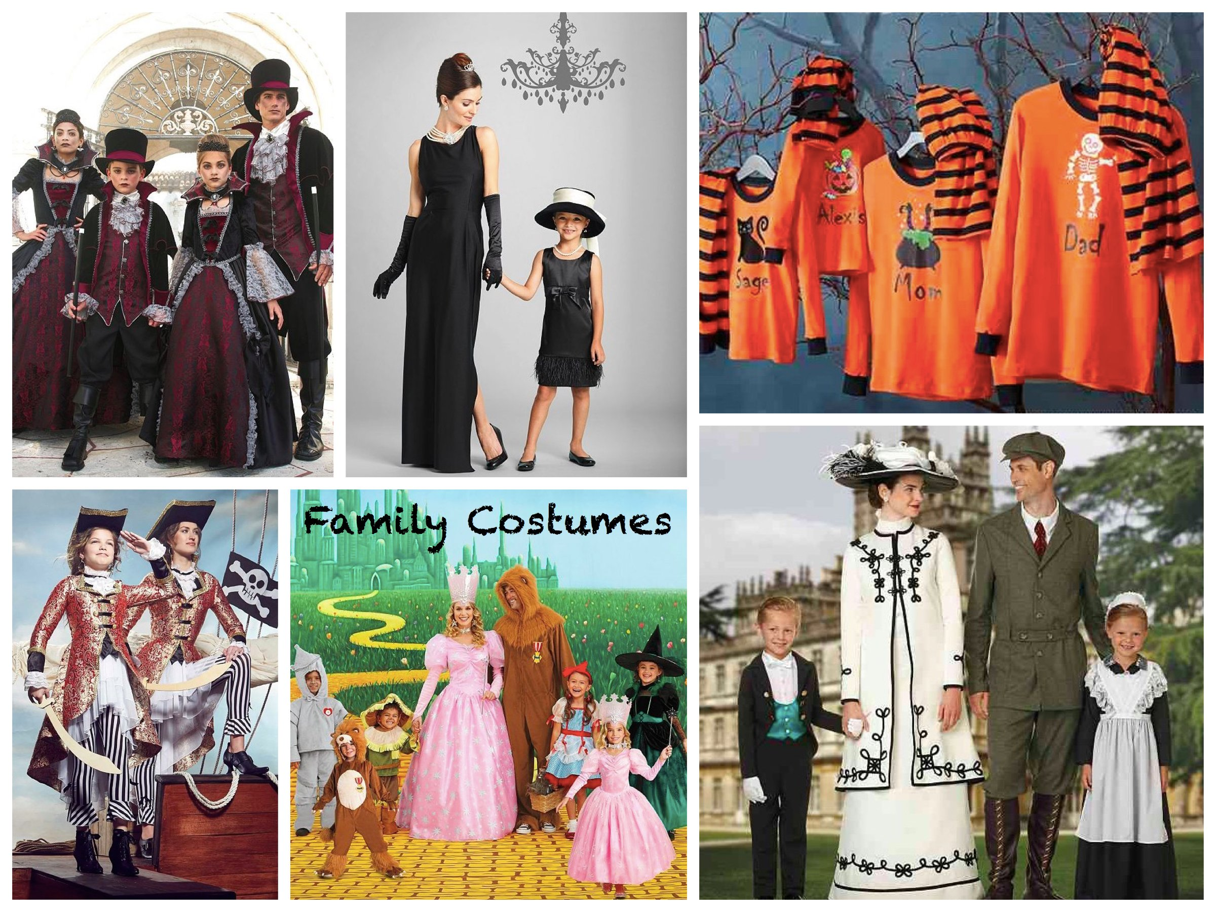 Deluxe Mommy Daddy and Me Halloween Costumes