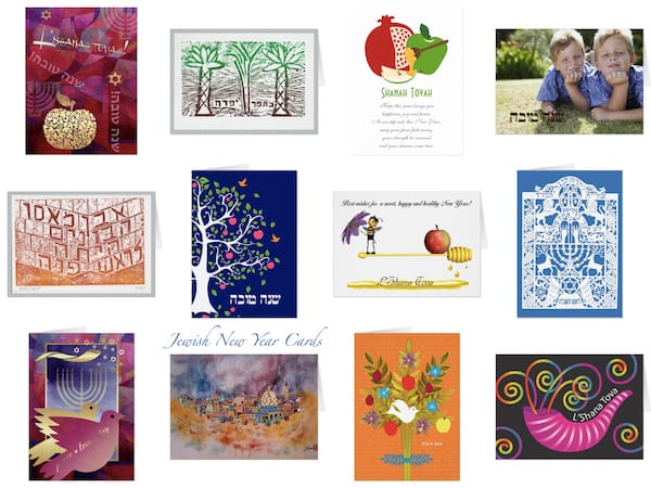 Jewish New Year & Rosh Hashana Cards