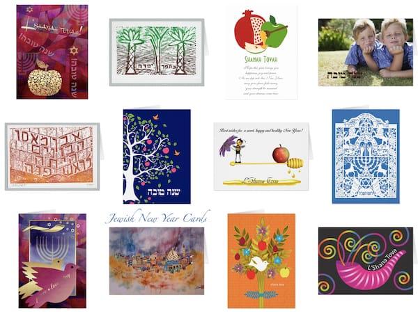 Jewish New Year & Rosh Hashana Cards