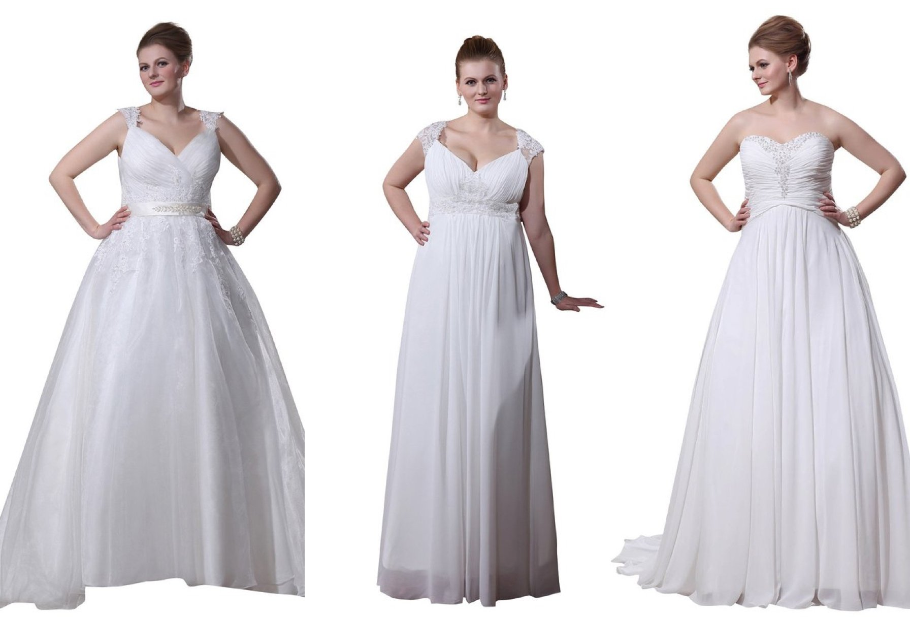 Affordable Plus Size Wedding Gowns, Plus Size Wedding Dress