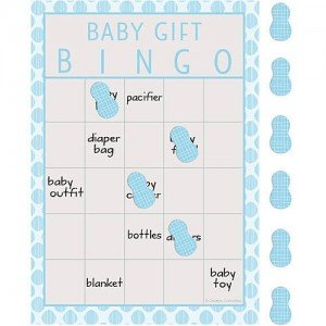 Little Peanut Boy Bingo Game