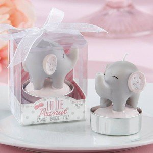 Little Peanut Elephant Candles