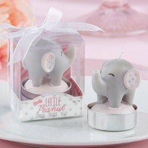 Little Peanut Elephant Candles