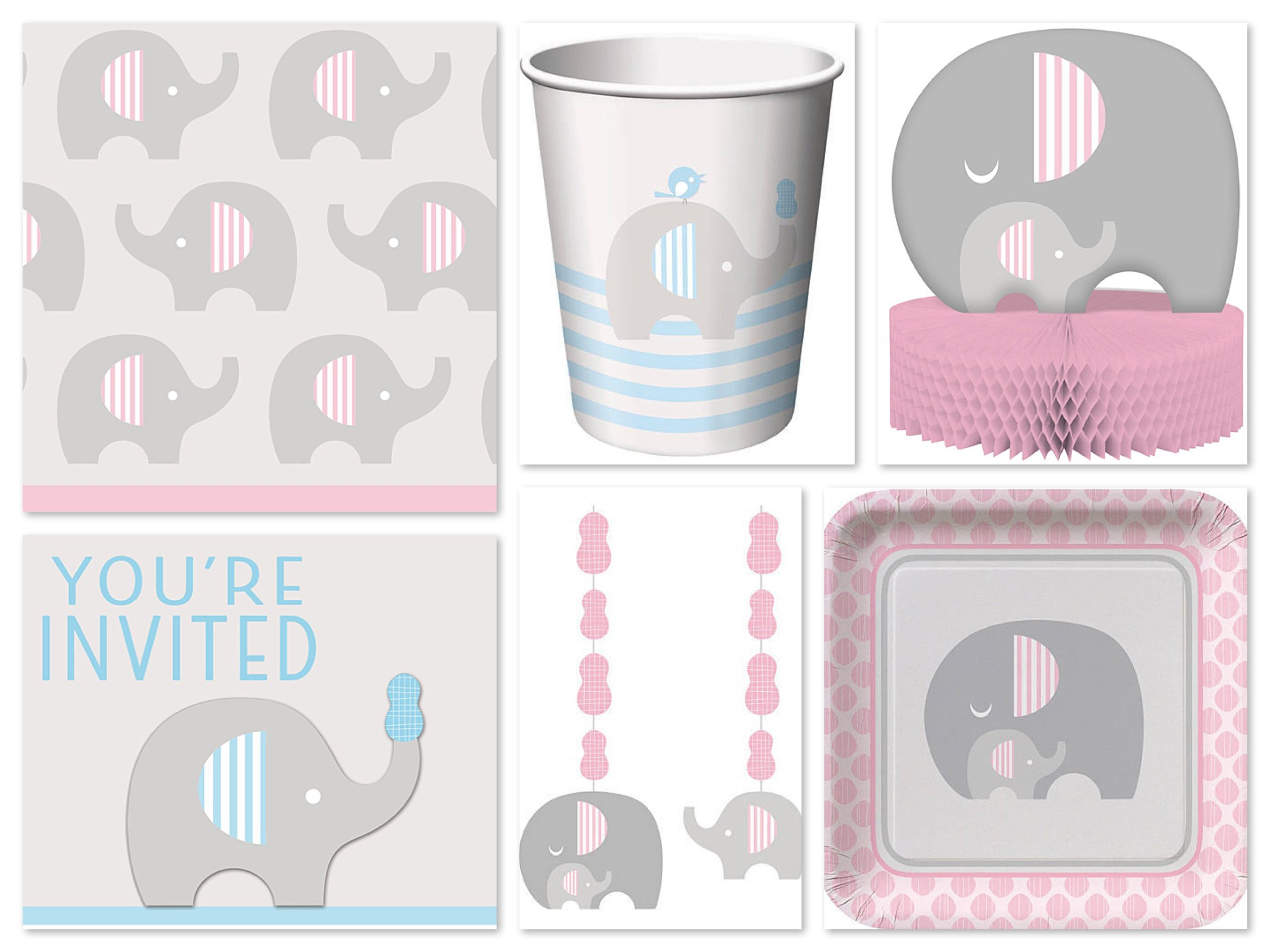 Little Peanut Elephant Party Supplies