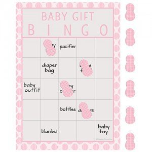 Little Peanut Girl Bingo Game