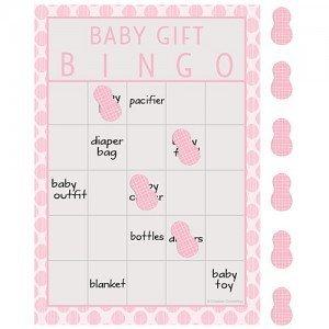 Little Peanut Girl Bingo Game