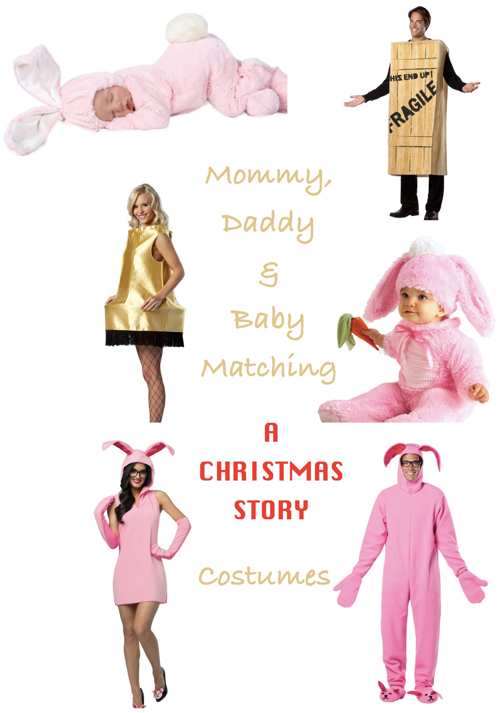 Mommy, Daddy & Baby A Christmas Story Costumes