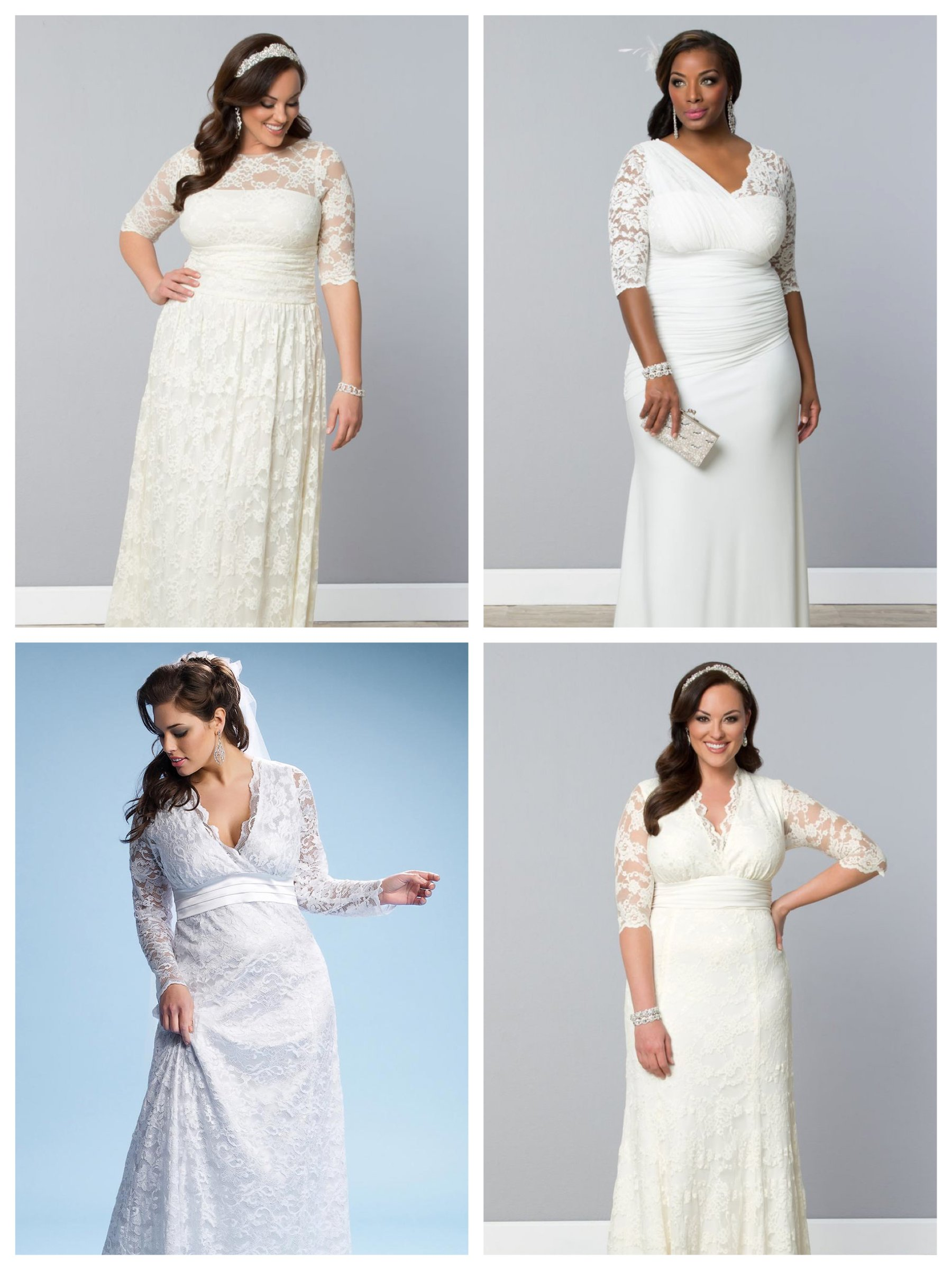 Kiyonna Plus Size Wedding Gowns Dress