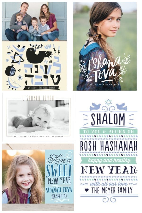 Rosh Hashana Jewish New Year Cards
