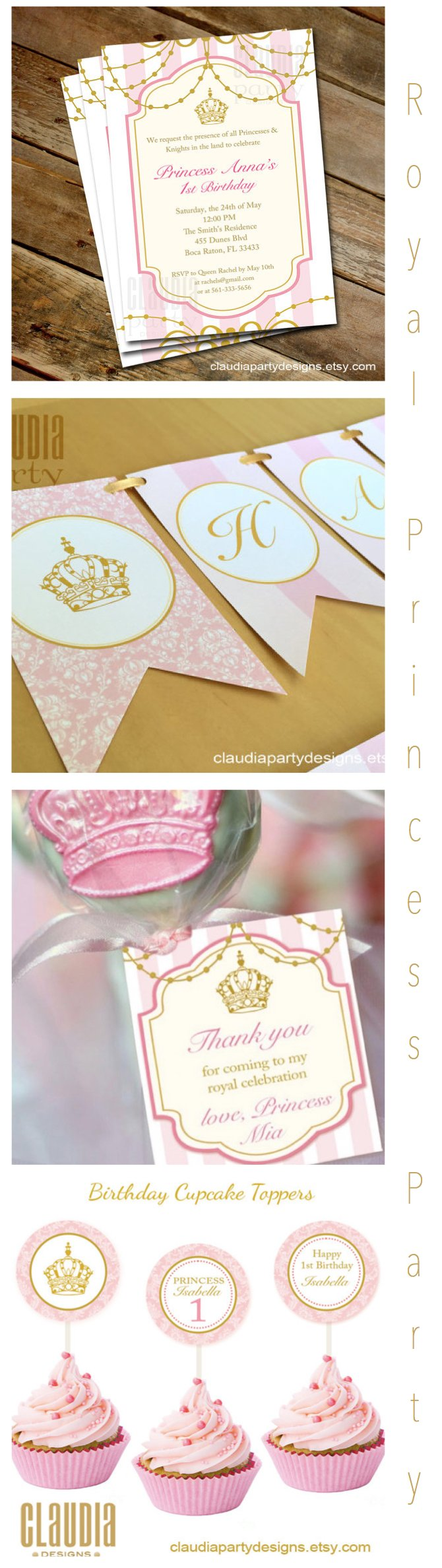 Royal Princess Party Printables