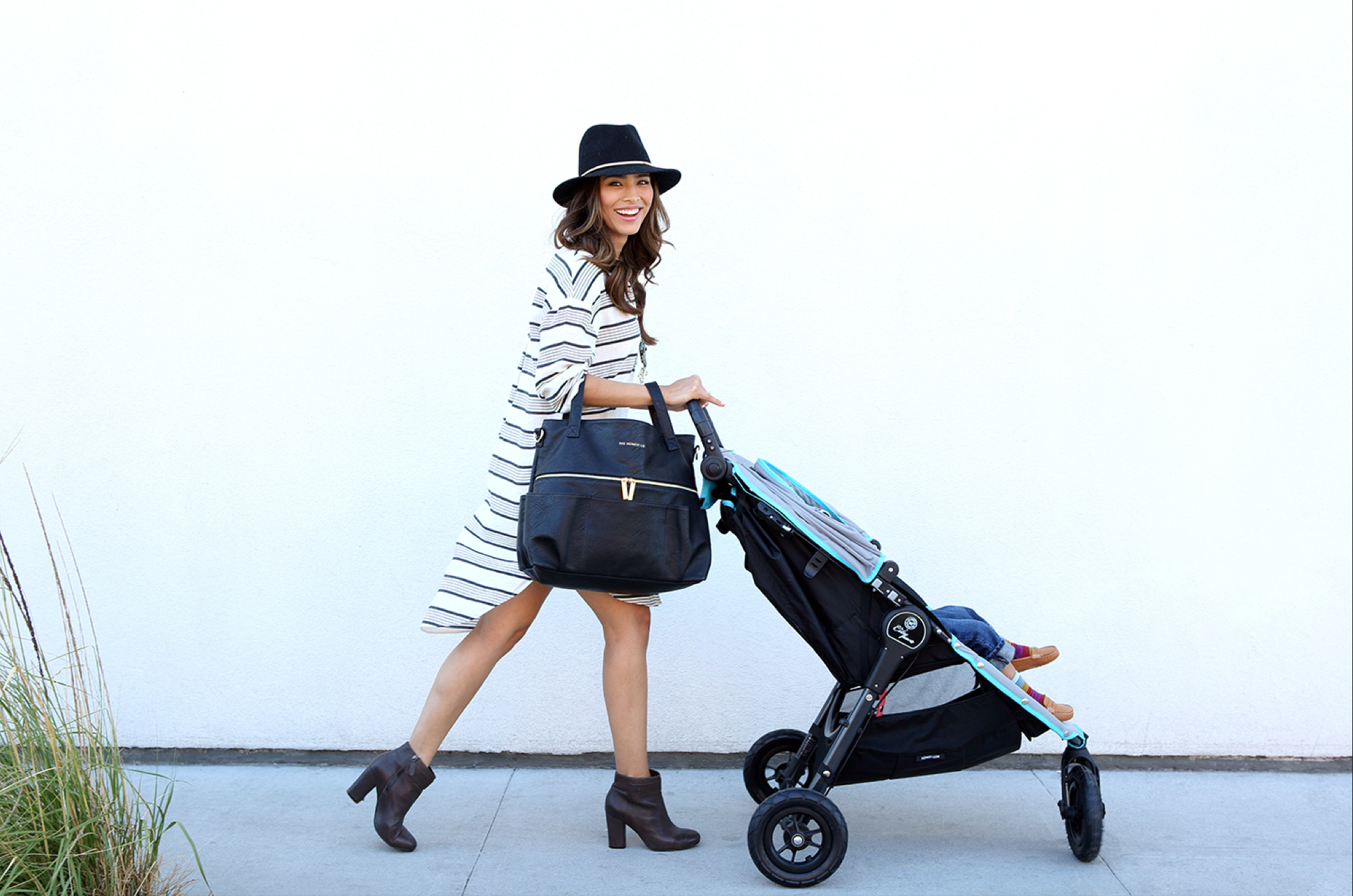 The Honest Company's Chic  Diaper Bag and Satchel
