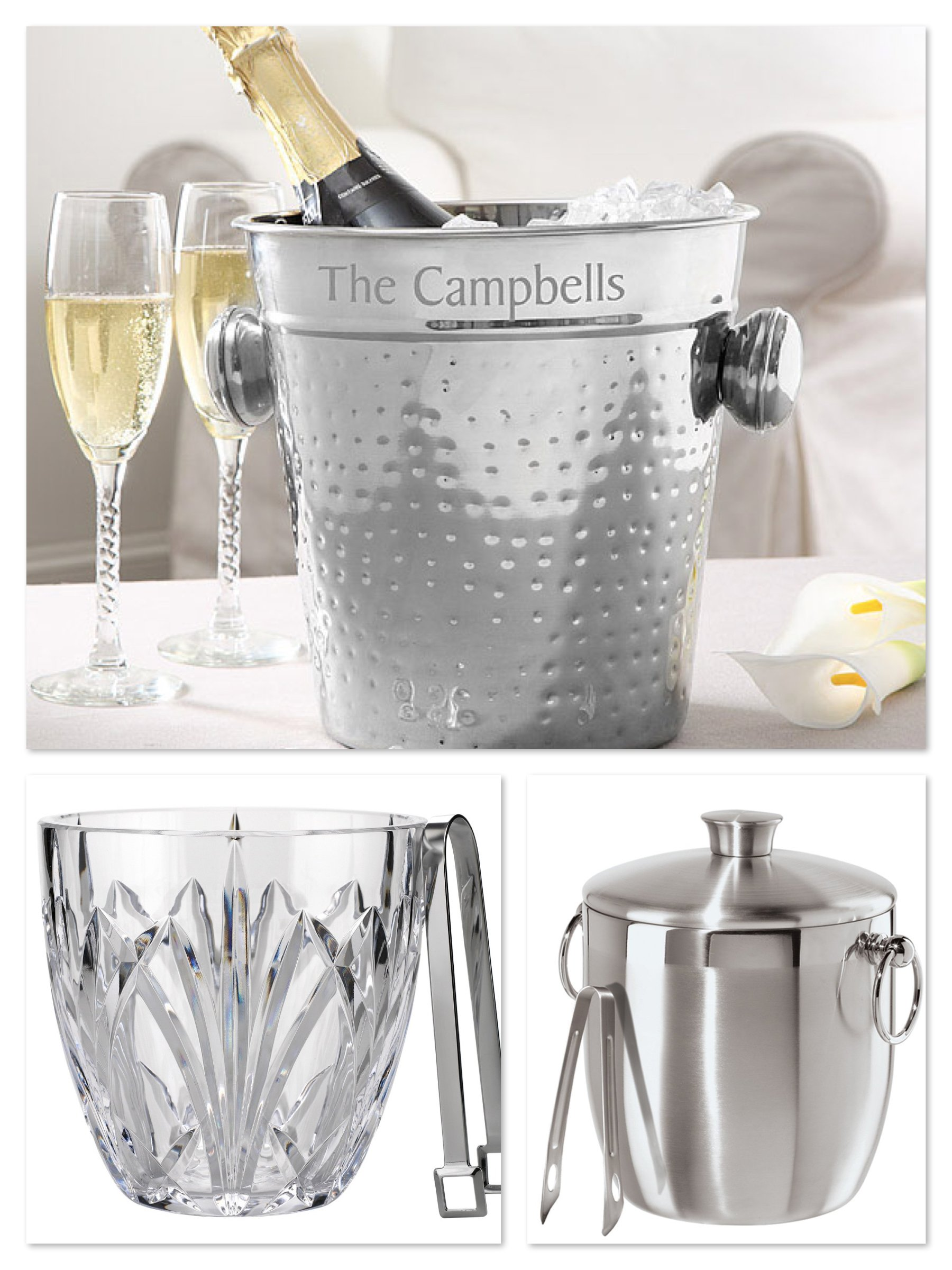 Ice Buckets, Home Bar Essentials