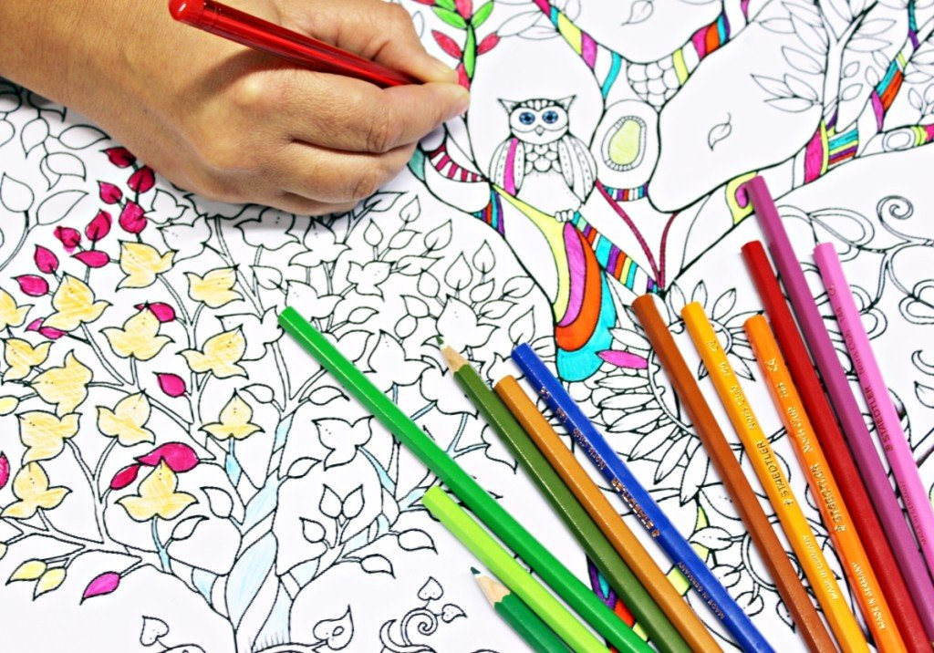 Adult Coloring Party Planning, Ideas & Supplies | Party Themes ...