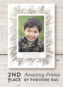 Amazing Frame Holiday Card