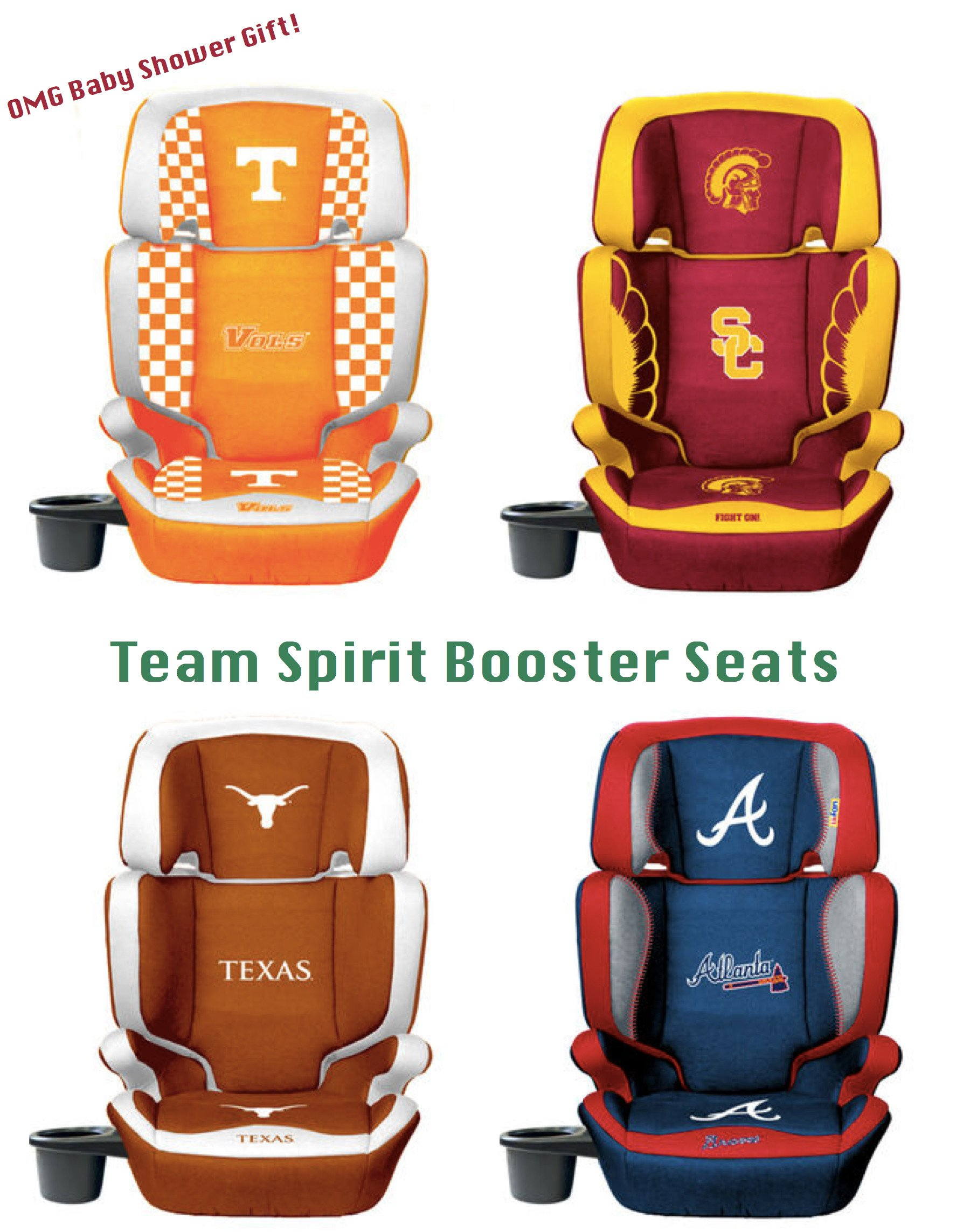 Baby Shower Gifts, Team Spirit Booster Seats