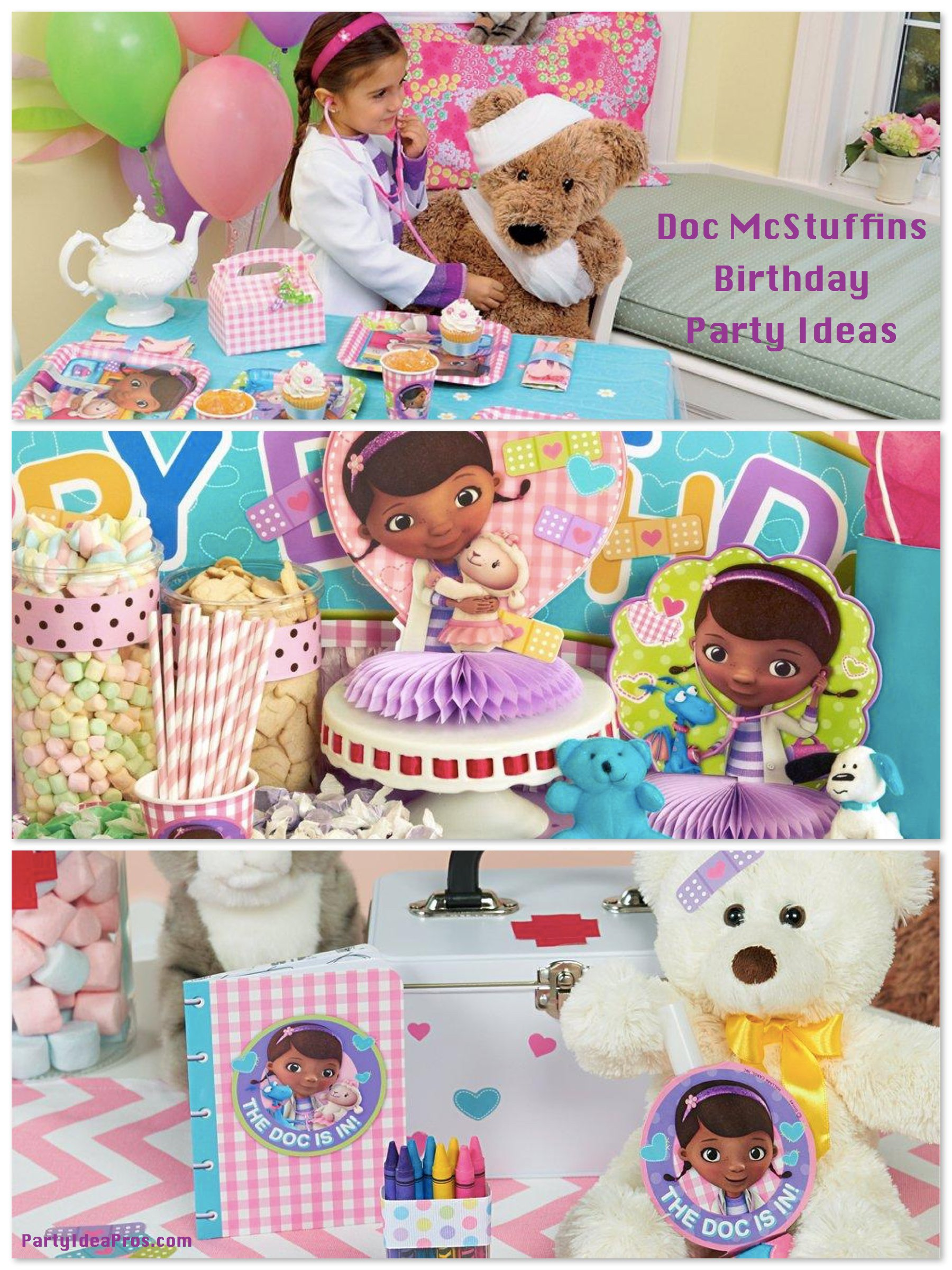 Doc McStuffins Birthday Party Planning, Ideas & Supplies ...