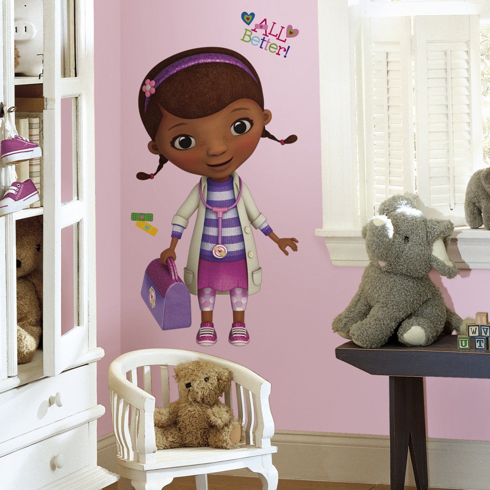 Doc McStuffins Giant Wall Decals