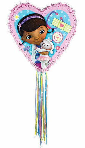 Doc McStuffins Heart-Shaped Pinata