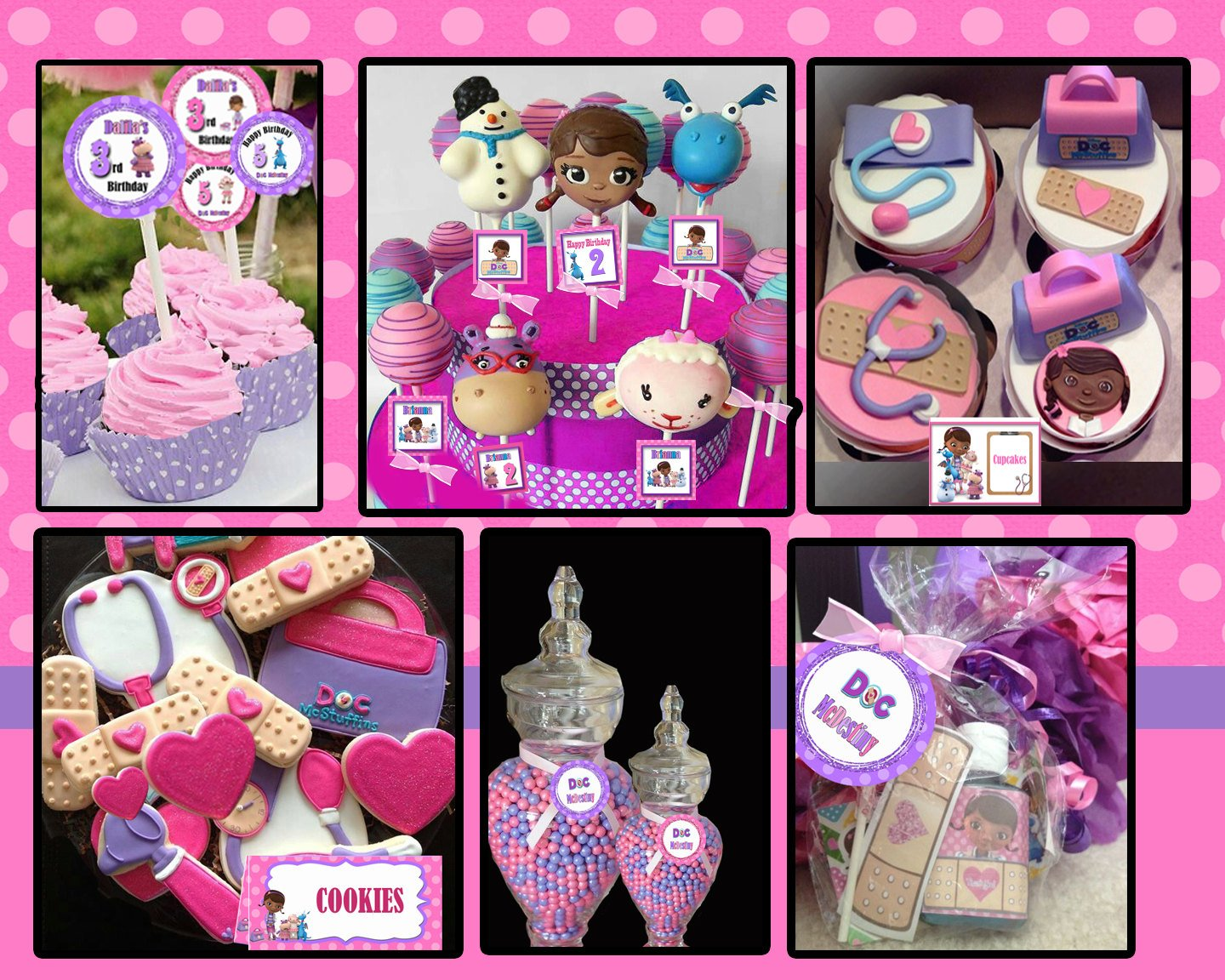 Doc Mcstuffins Party Printables
