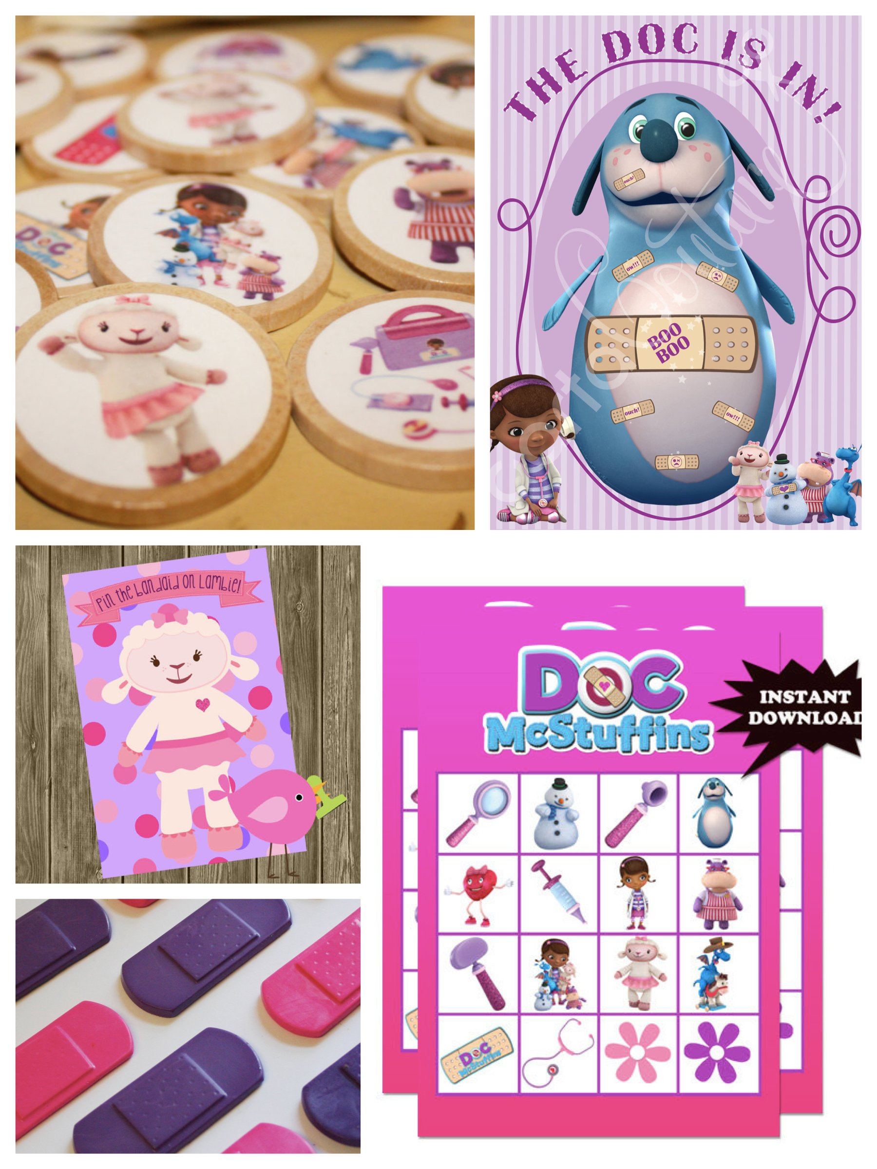 Doc McStuffins Birthday Party Games & Activities
