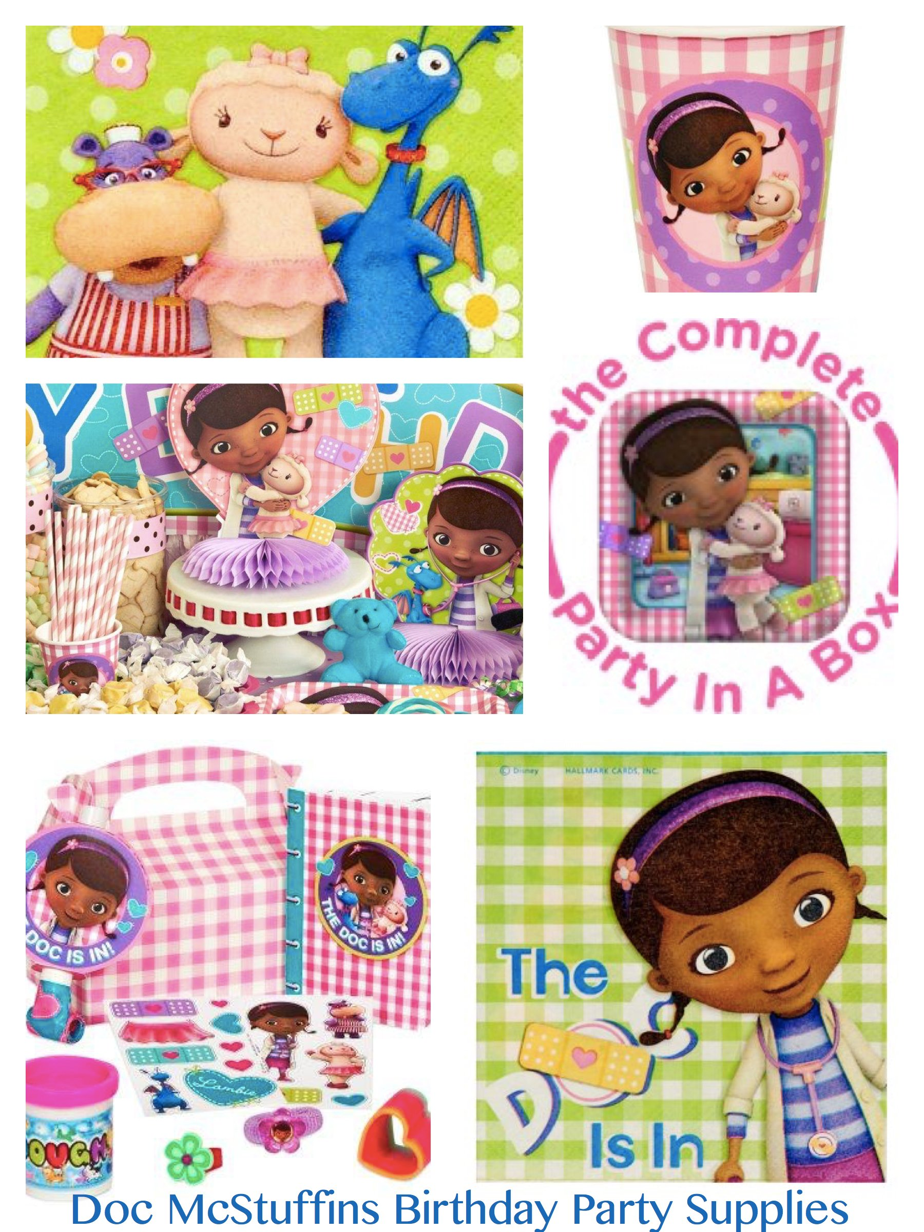 Doc McStuffins Birthday Party Supplies