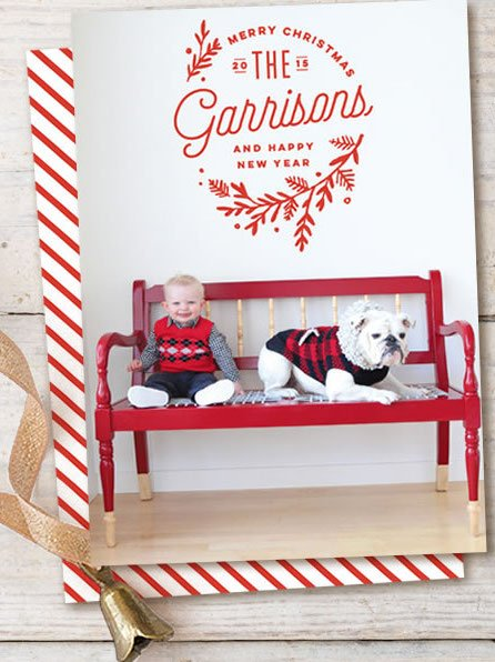 Embellished Holiday Cards