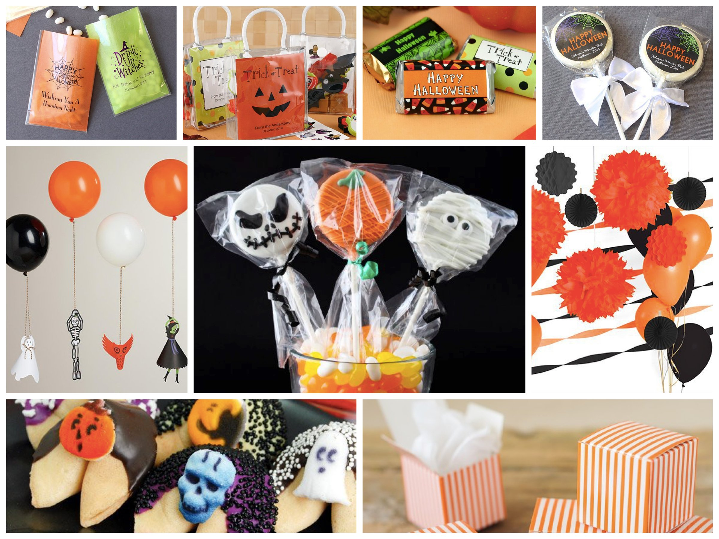 Halloween Party Favors and Decor