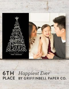 Happiest Ever Holiday Card