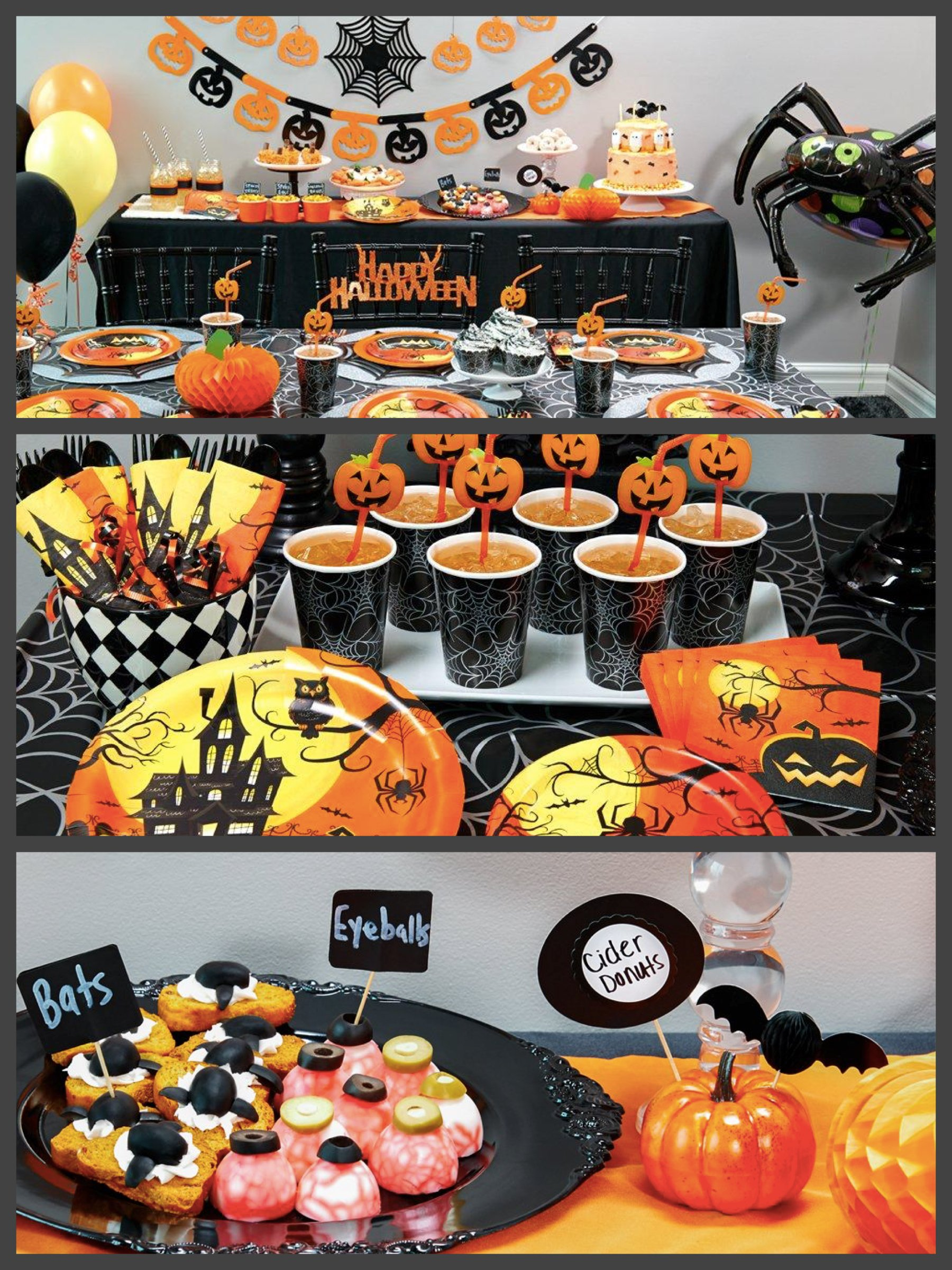 spooky halloween party supplies