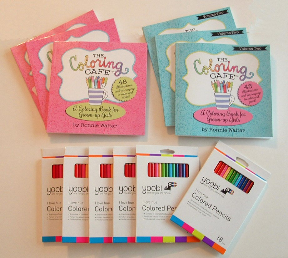 The Coloring Cafe Party Pack