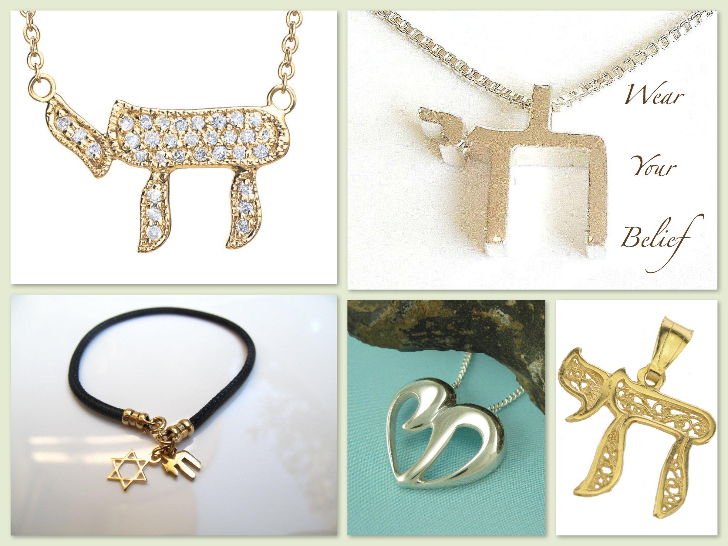 Wear Your Belief Chai Jewelry